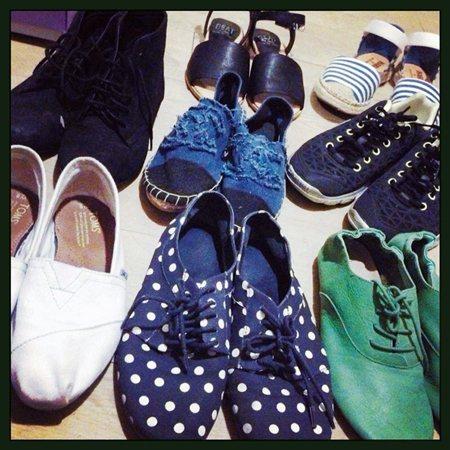 TOMO私藏小物:平底鞋/TOMO。圖/美人誌提供