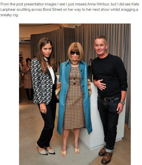PRADA 的長大衣可說是秋冬名人最愛之一,安娜溫圖、Marc Jacobs 等...