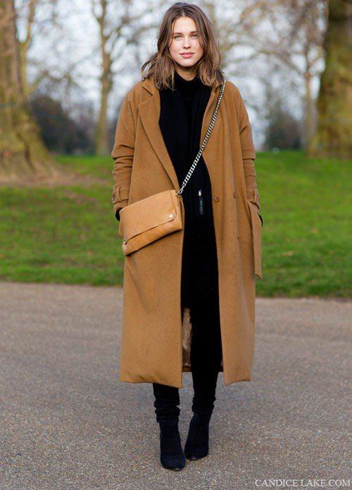 長大衣不見得要厚重,主要是「防風」的效果徹不徹底。圖/達志影像