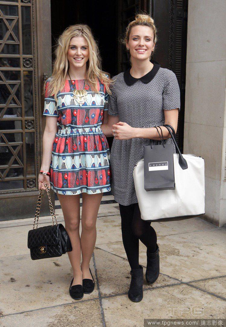若想把民族風印花裙拿出來穿,像英國實境秀Made in Chelsea 名人As...