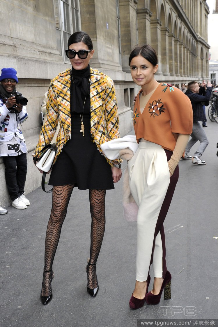 時尚達人 Giovanna Battaglia 與 Miroslava Duma...