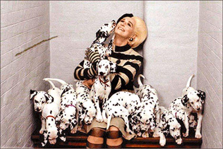 《101真狗》中的反派庫伊拉整天想著如何穿遍世上珍稀皮草。圖/聯合報資料照