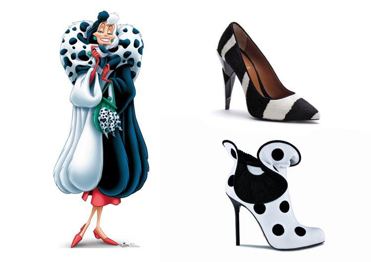 FENDI 2013 推出的黑白馬毛高跟鞋滿足皮草狂庫伊拉最愛的顏色與材質,Se...