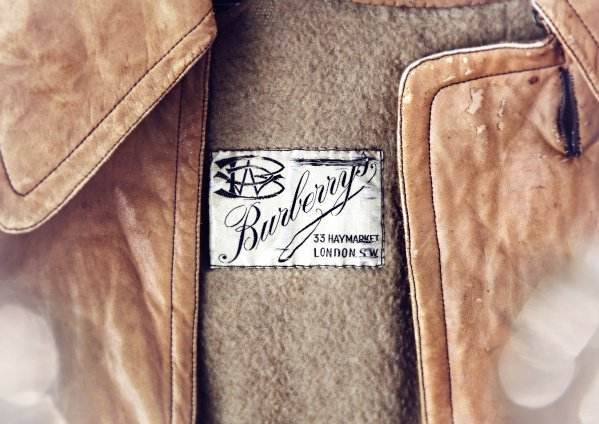 Burberry早期的商標。圖/Burberry提供