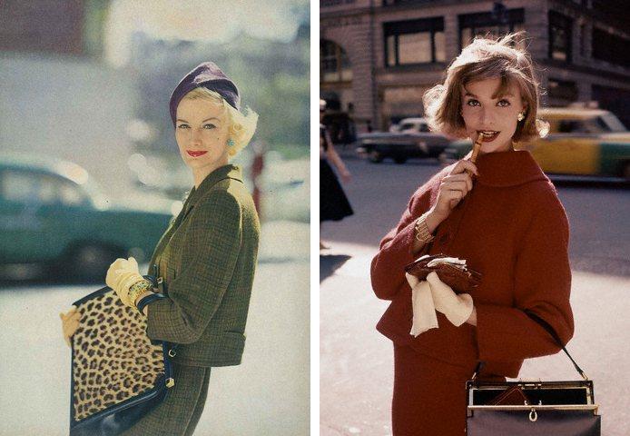 正值戰後復甦的黃金時期--五○年代吹起套裝與蓬裙風,尤其是套裝,簡直是眾女性們的...