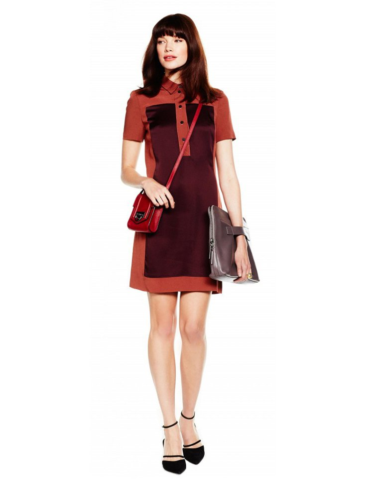 無論是色塊襯衫領、異材質拼接或 POLO 洋裝,都是穿出型味的絕佳選擇。圖/擷自...