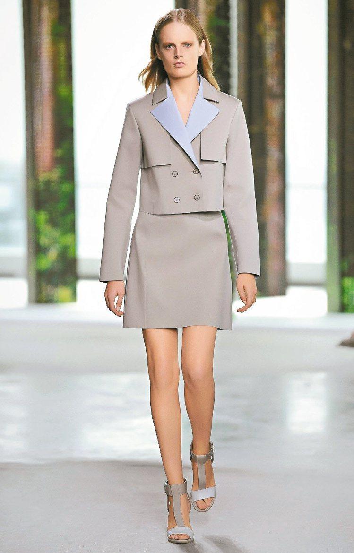 BOSS將男士西裝概念融入新裝。圖/Boss提供