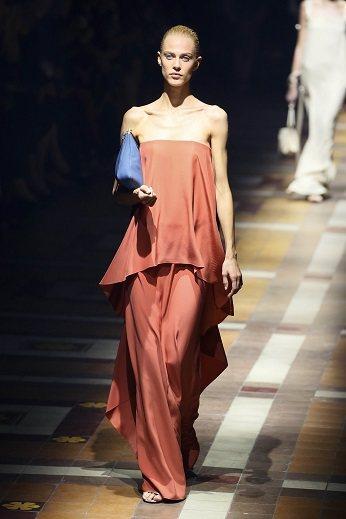 LANVIN 女裝跨越年齡之美。圖/法新社