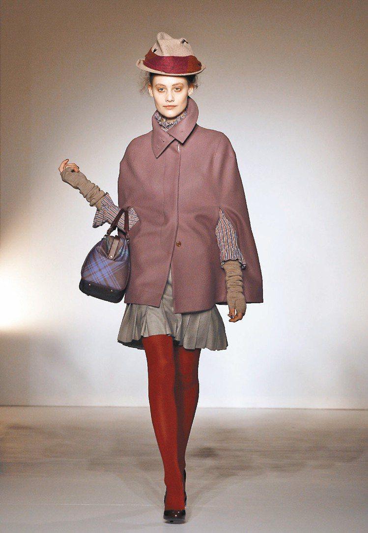 Vivienne Westwood秋冬新裝回歸實穿。圖/美聯社