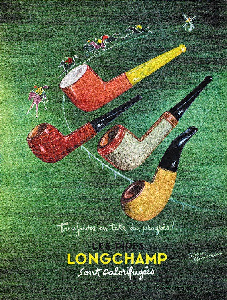Longchamp前身為菸草小鋪,後來涉足皮革菸斗,最後跨入時尚流行產業。圖/L...