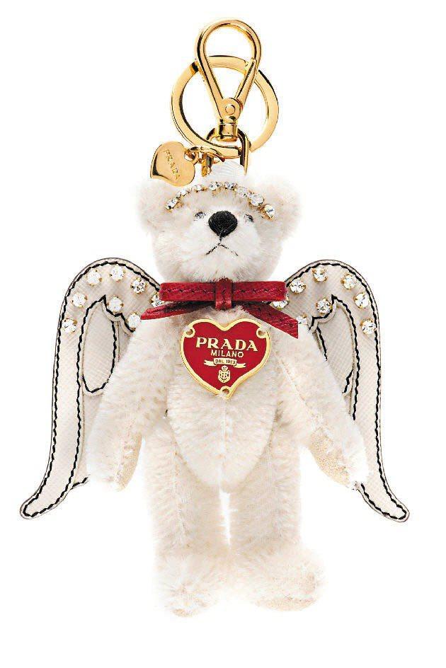 PRADA情人節愛心熊、6,000元。圖/PRADA提供