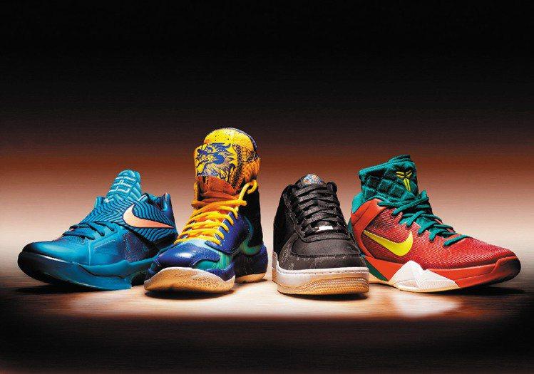 Nike推出的龍年系列,上市不到1個月售罄。圖/Nike提供