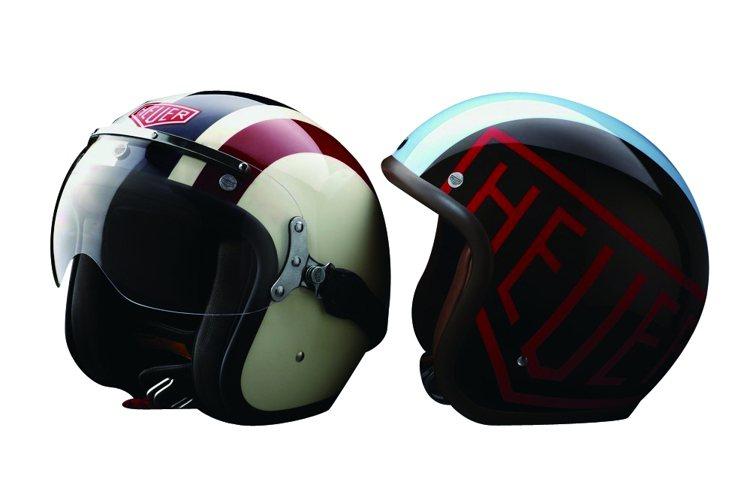 設計款安全帽(TAG HEUER)1萬8,000元。圖/TVBS周刊提供