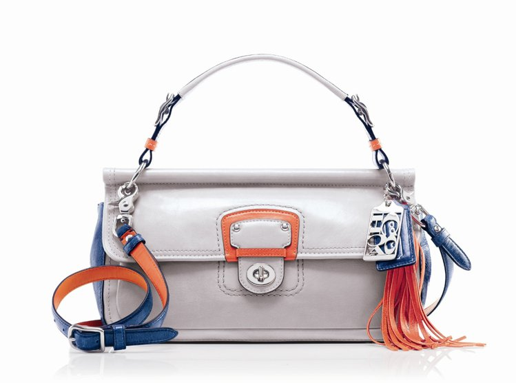 COACH春夏女款Poppy Colorblock EW Willis包款、15...