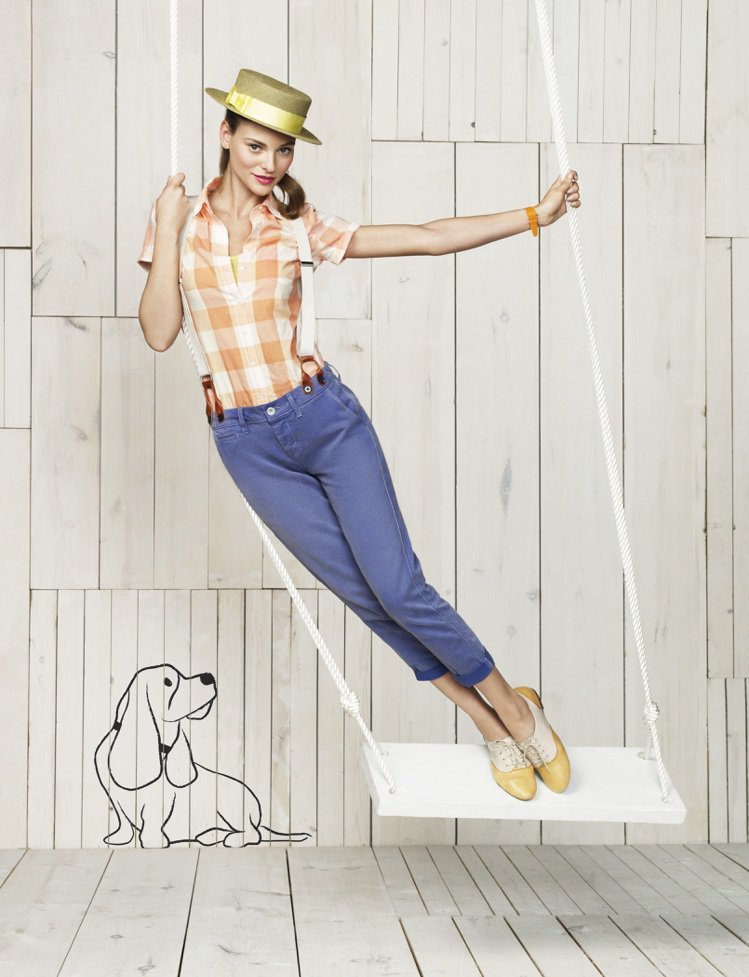 Hush Puppies透過雙色調混搭,讓正式的牛津鞋款吹起復古風潮。圖/Hus...