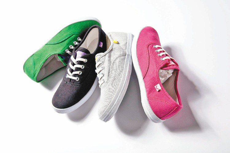PONY薄底鞋系列,十足展現日系女孩特色。圖/PONY提供