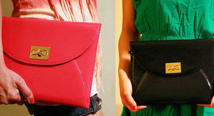 HENRIK FÄLTESIGN以信封形的clutch bag為概念將iPad時...