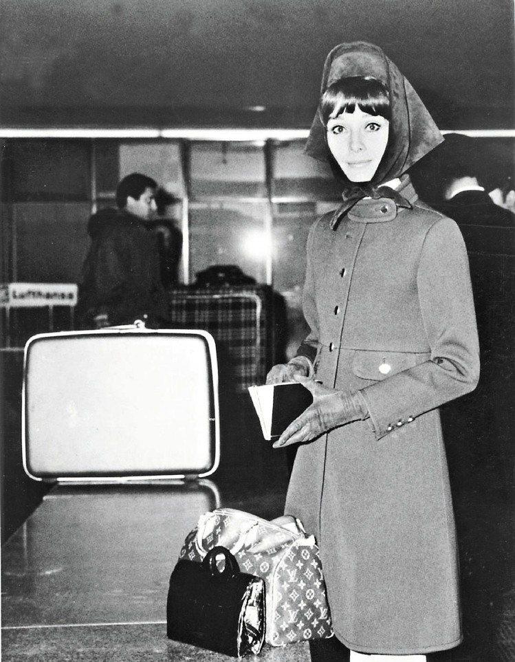 LV的Speedy包因奧黛莉赫本而成為經典。圖/LV提供