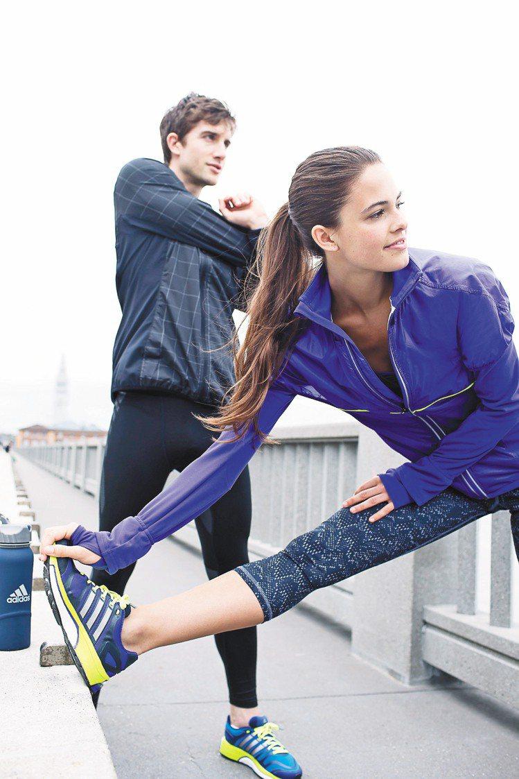 adidas的BOOST科技未來將運用在所有跑鞋上。圖/adidas提供