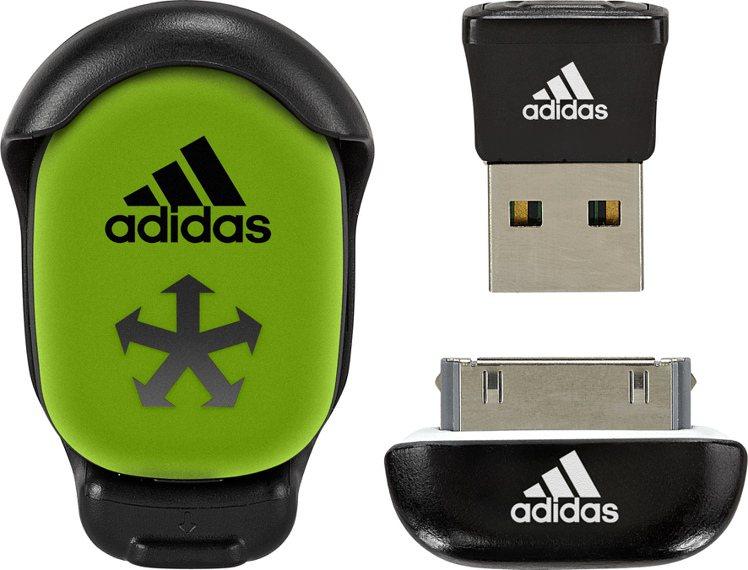 adidas在中高階的跑鞋內都有可置入監測晶片的設計。圖/adidas提供