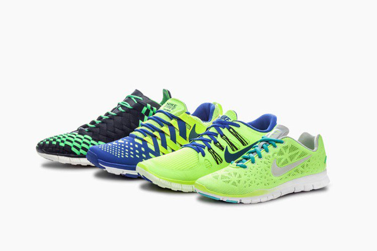 Nike Free系列帶起的裸足風依舊是慢跑鞋主流。圖/Nike提供