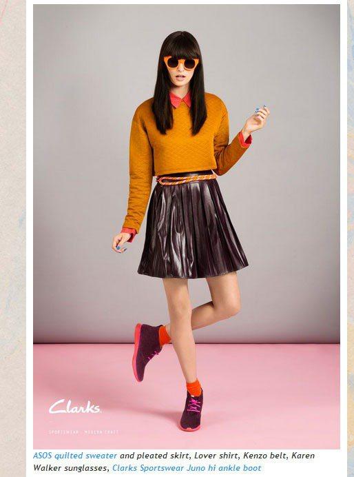 知名亞裔時尚部落客 Susie Bubble 這回跨刀幫英國經典鞋款品牌 CLA...