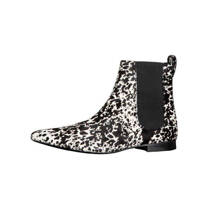 BURBERRY動物紋踝靴、40,000元。圖/BURBERRY提供
