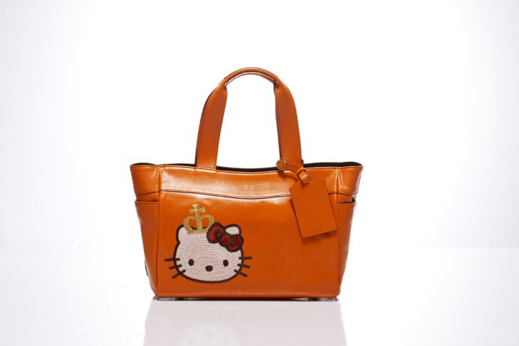 「Kitty Lux by A.D.M.J」Queen Kitty Bag亮橘,...
