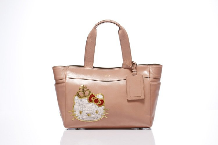 「Kitty Lux by A.D.M.J」Queen Kitty Bag煙燻粉...