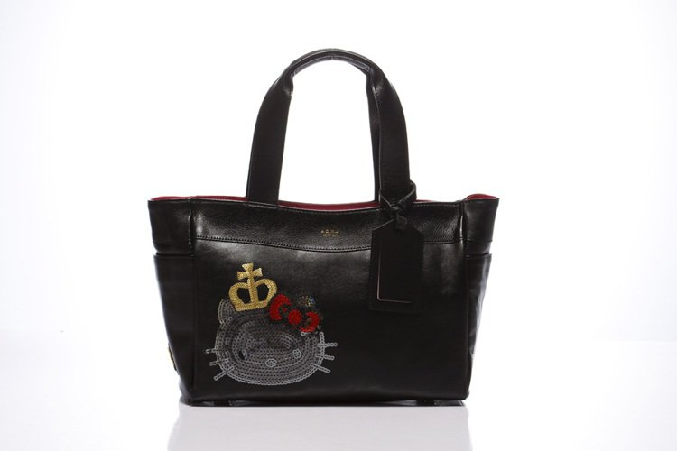 「Kitty Lux by A.D.M.J」Queen Kitty Bag黑,定...