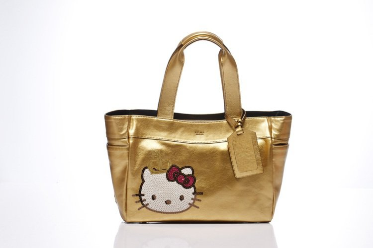 「Kitty Lux by A.D.M.J」Queen Kitty Bag金,定...