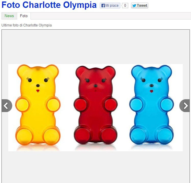 charlotte olympia 也持續推出各種好玩的造型包款,秋冬推出小熊軟...