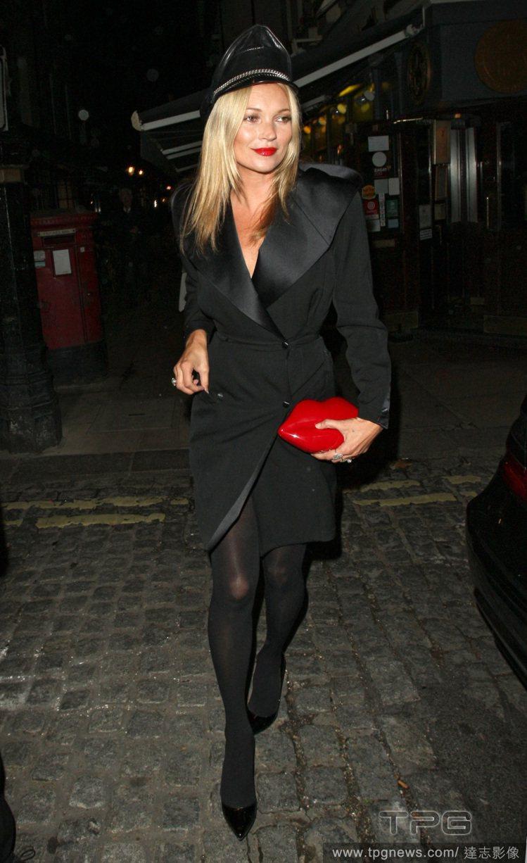 英國品牌 Lulu Guinness 的紅唇包廣受歡迎,凱特摩絲也愛拎。圖/達志...