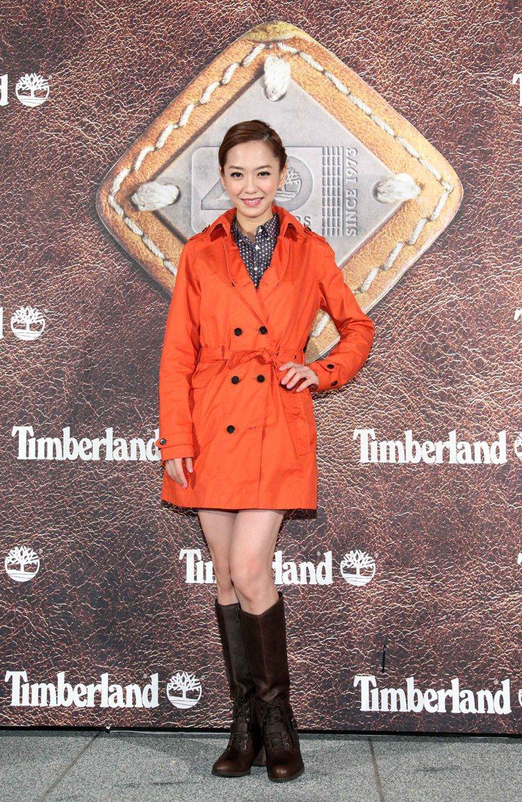 楊千霈出席 Timberland四十周年派對活動。圖/Timberland 提供