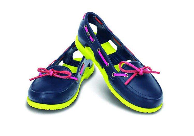 Crocs發表新品,今年瞄準年輕女性。圖/Crocs提供