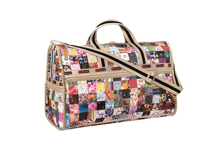 40週年印花大旅行袋,5700元。圖/LeSportsac提供