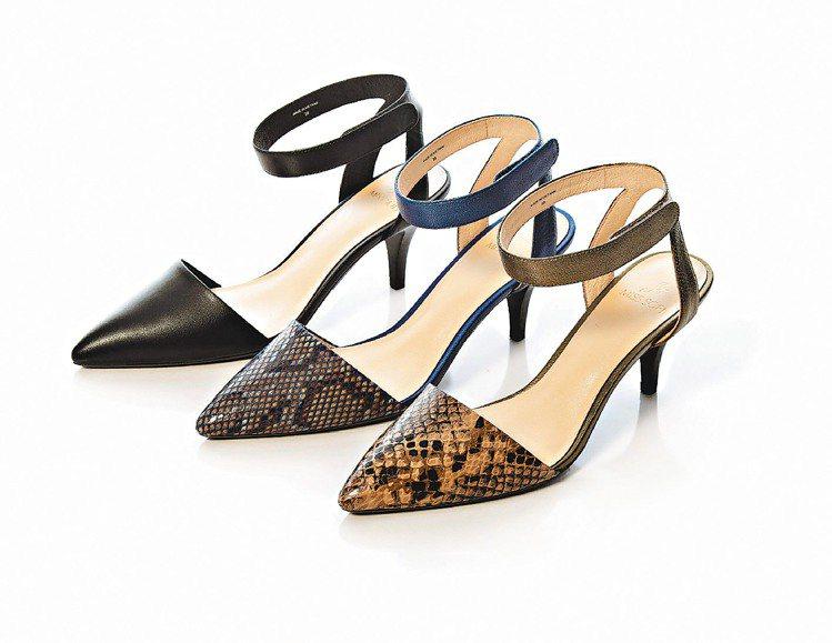 MISS SOFI同名款經典蛇紋尖頭細跟鞋,為孫芸芸著用款。圖/MISS SOF...