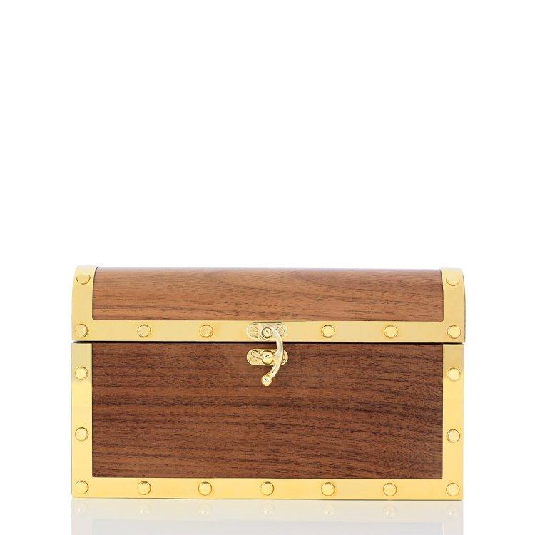 寶藏箱手拿包,54,800元。圖/藍鐘提供