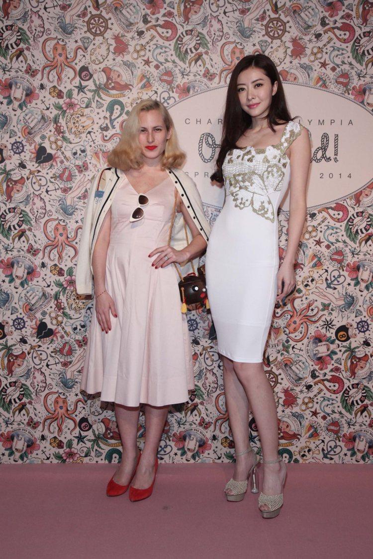 英國時尚品牌 Charlotte Olympia 發表2014春夏新品,品牌創辦...