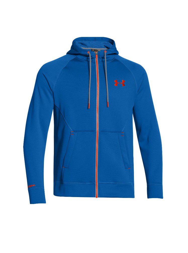 UNDER ARMOUR推出恆溫保暖裝備,供冬季跑者穿搭。圖/UNDER ARM...