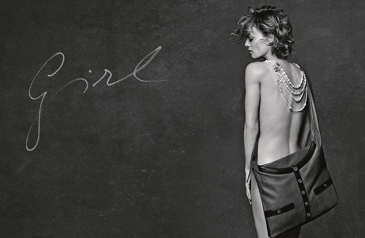 香奈兒新款柔美女孩版本的Girl Chanel包,由凡妮莎帕哈迪(Vanessa...