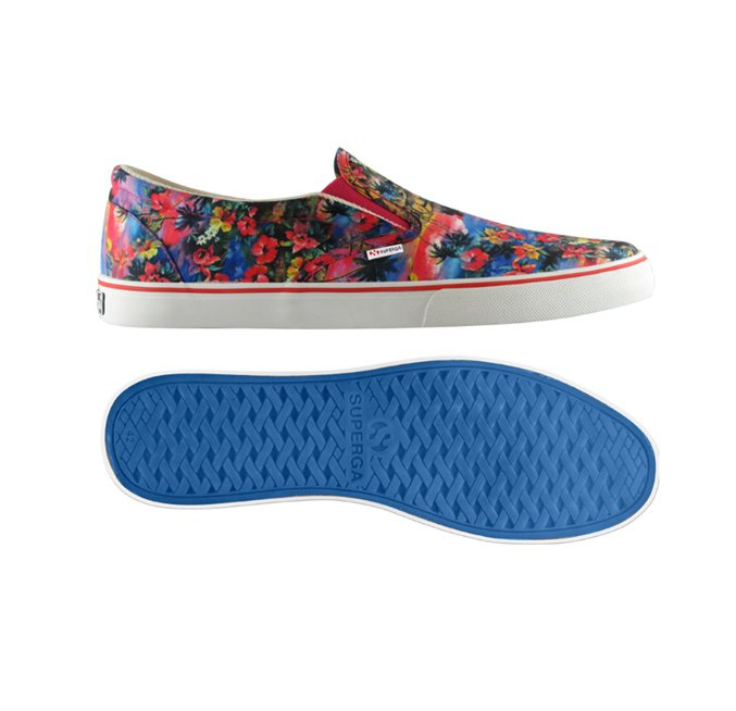 Slip On 女款Italy Material粉紅,2580元。圖/SUPER...