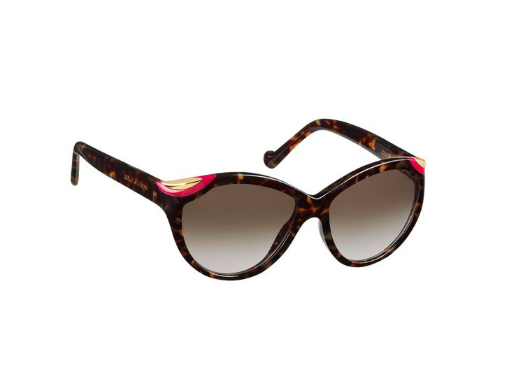 LV夏季推出Ivy cat Eye Dark Tortoise太陽眼鏡、22,9...