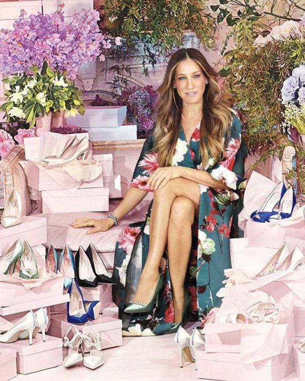 好萊塢女星莎拉潔西卡派克自從創立自己的同名鞋款系列 SJP 後,就非常熱衷自己這...