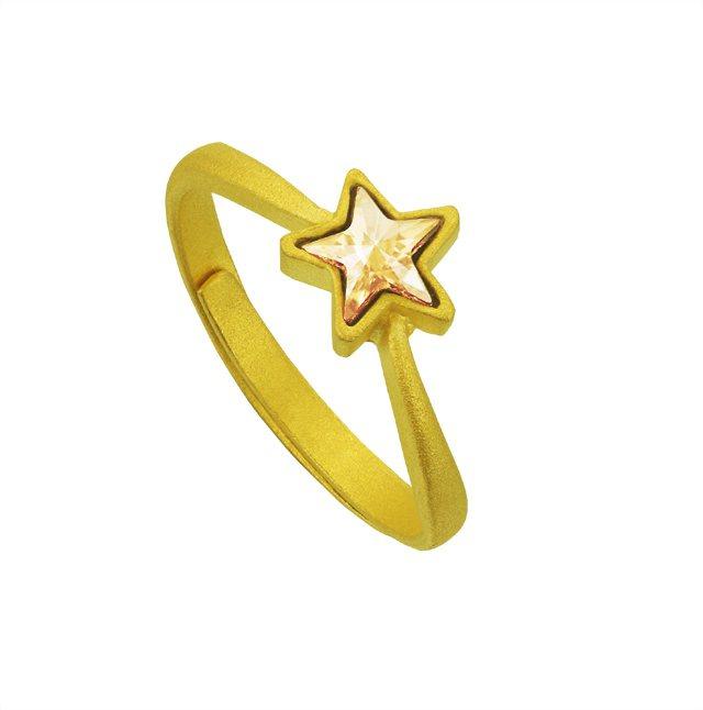 隨身佩帶LuckyStar「財星高照」尾戒,好運就會跟隨你,讓你財星高照。圖/今...