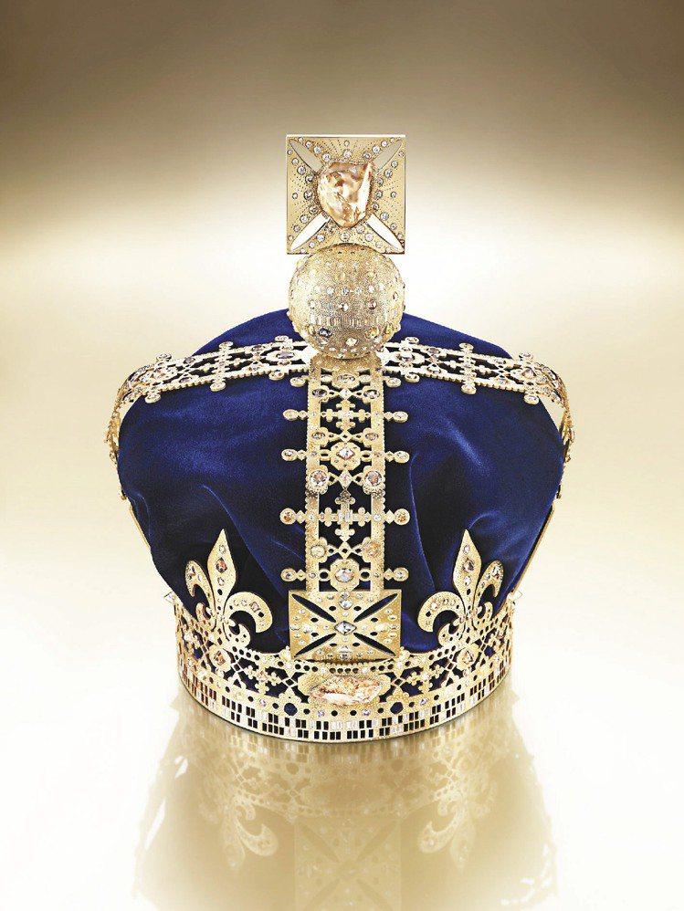De Beers為英女王登基60年打造的Talisman紀念皇冠。圖/De Be...