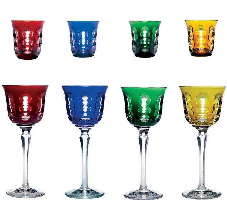 KAWALI系列:水杯9,800元/酒杯11,200元。圖/Christofle...