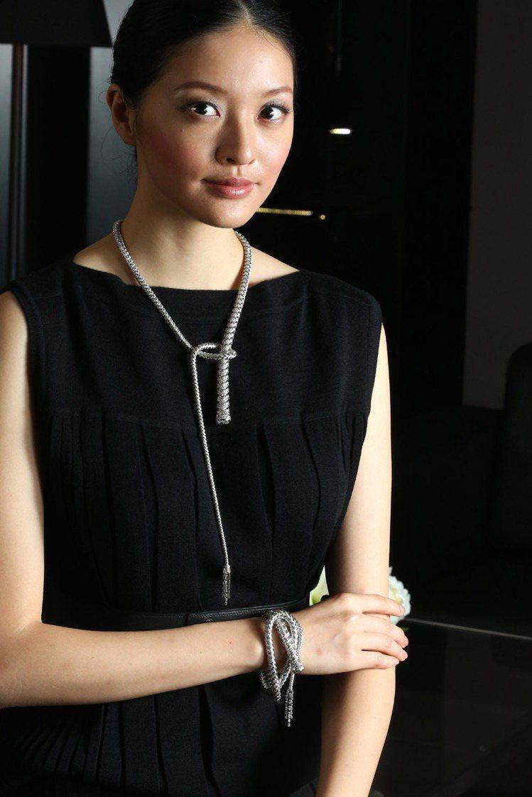 愛馬仕即日起於台北麗晶精品愛瑪仕店內舉辦頂級珠寶展。記者陳立凱/攝影