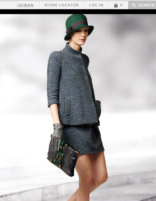 Emporio Armani 以二○年代的復古style玩變化,推出一系列圓帽。...