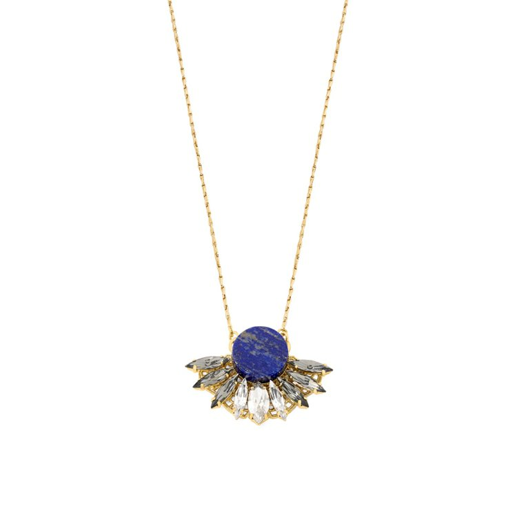 Anton Heunis藍碧嘉系列藍寶石項鏈,6300元。圖/PASSHION提...